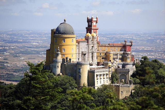 Parque e Palácio da Pena em Sintra