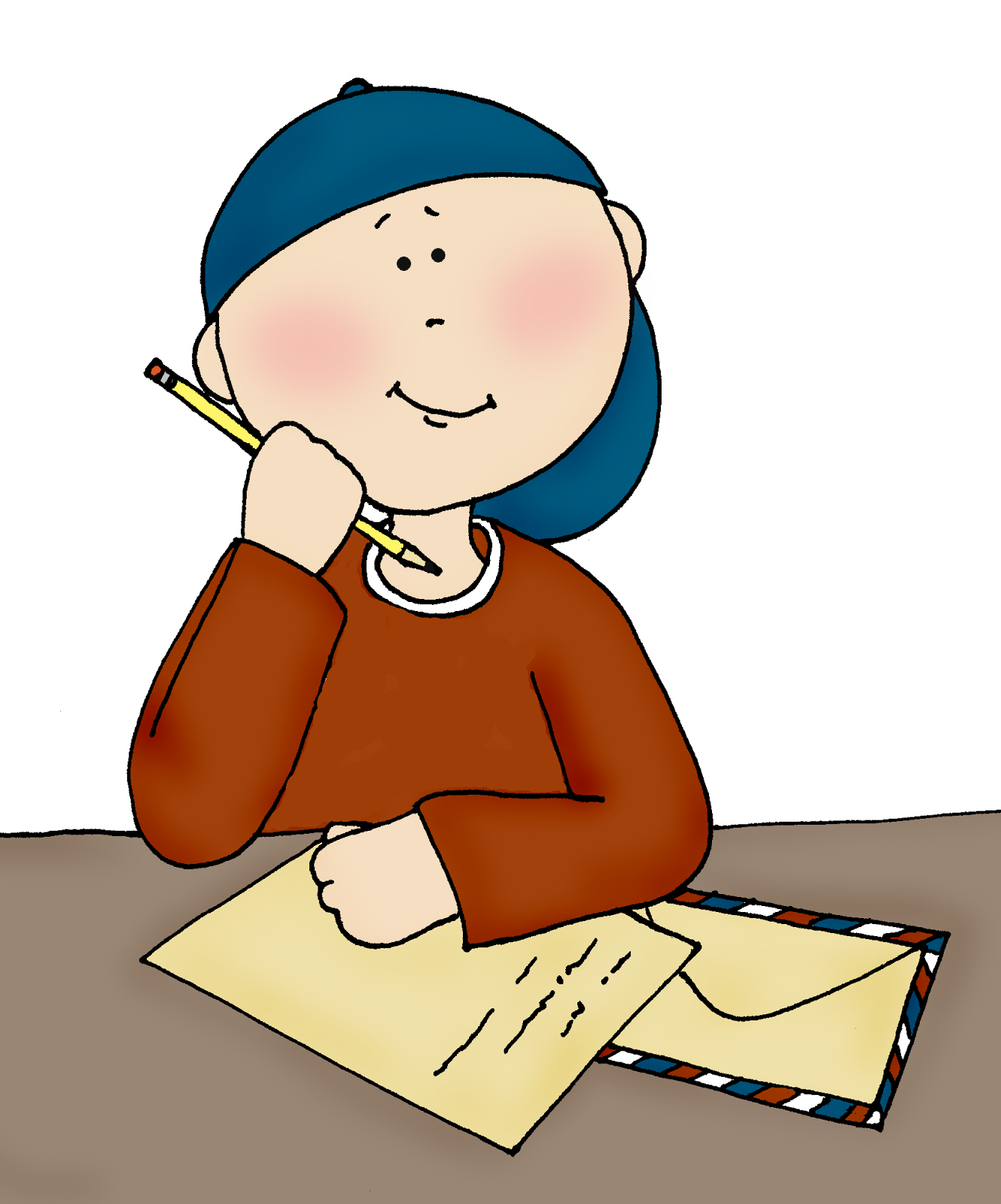 Cartoon Writing Stock Photos and Images