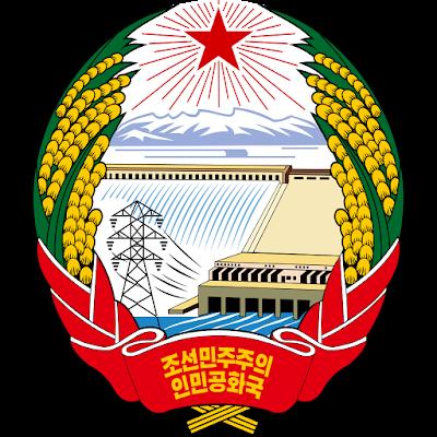 Coat of arms - Flags - Emblem - Logo Gambar Lambang, Simbol, Bendera Negara Korea Utara