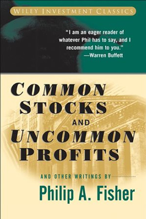 Stock investment good book to read: Common Stocks and Uncommon Profits