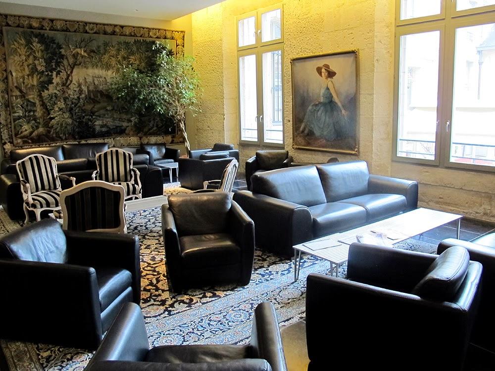 Hotel de Bourgtheroulde hotel lobby