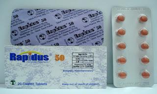 Rapidus -price سعر رابيدوس اقراص مسكن و مضاد التهاب