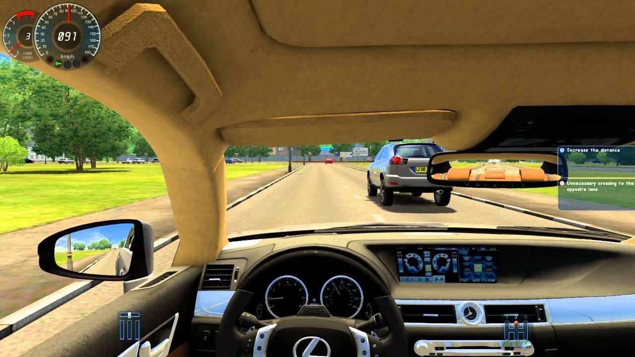 تحميل لعبة city car driving 2.2 7 تورنت