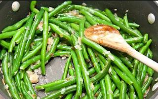 masakan kacang panjang