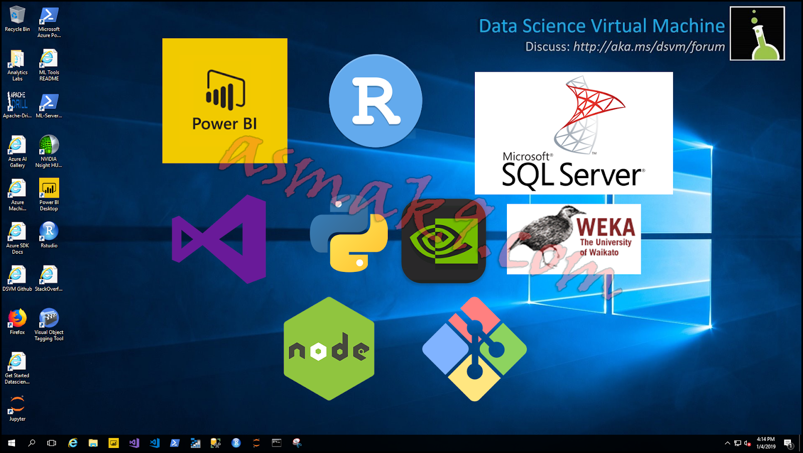 Microsoft Azure: Remote Desktop Connection to Data Science Windows