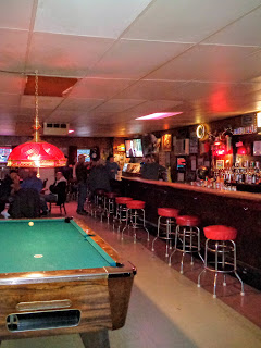 Hanson's Bar in Robinson, North Dakota is the geographic center of North America