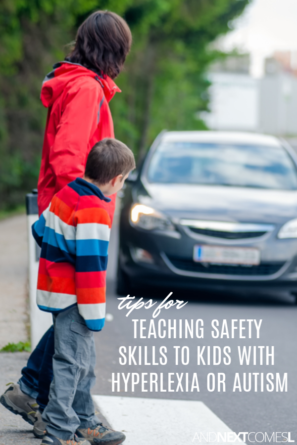 How to teach personal safety skills to kids with hyperlexia or autism