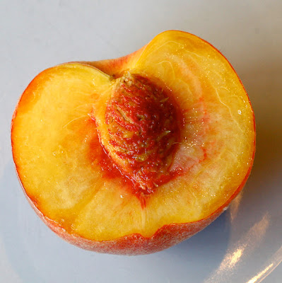 Peach half