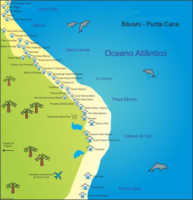 Onde se hospedar em Punta Cana?