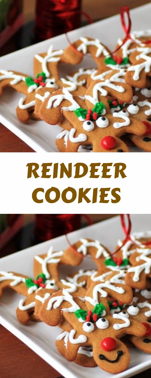 EASY AMAZING REINDEER COOKIES