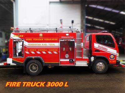 Fire truck ayaxx 3000 Liter