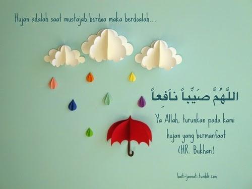 Doa Turun Hujan ~ sweet memories