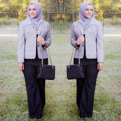 hijab kantor modis