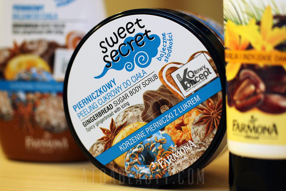 Farmona, Sweet Secret, Piernikowy peeling cukrowy do mycia ciała