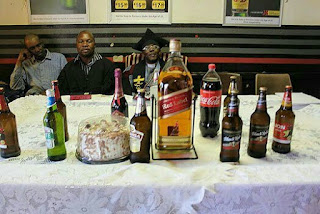 communion table of beers