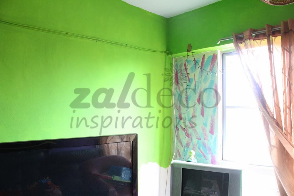 Pemasangan Kertas Dinding Zaldeco Di Seri Jati Apartment