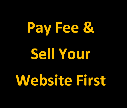 Sell Your Website First