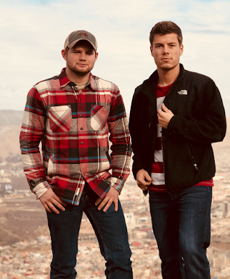 Lawson Bates and Nathan Bates in the Middle East