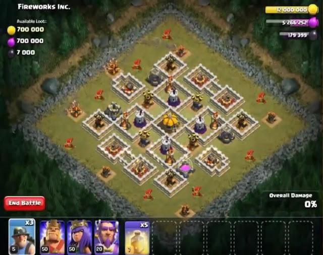 67. Fireworks Inc. Goblin Base COC