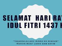 Kumpulan Ucapan Selamat Hari Raya Idul Fitri 2017