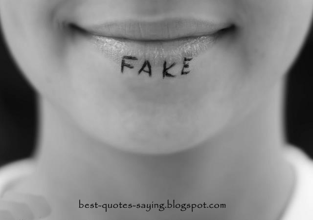 Best Quotes And Sayings: Fake Smile