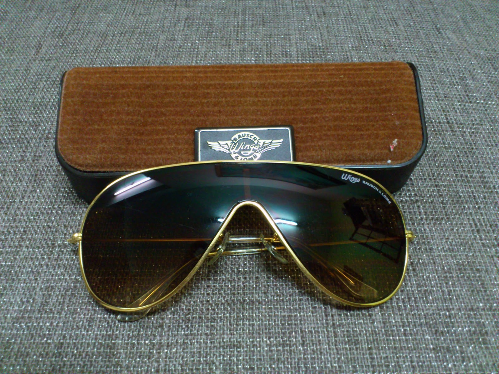 7485dd60db Vintage Bausch   Lomb Rayban Sunglasses  (SOLD)Wings by Bausch ...