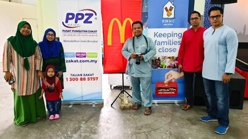 Raikan Anak Yatim Di Bulan Mulia : Terima Kasih McDonald's dan PPZ-MAIWP