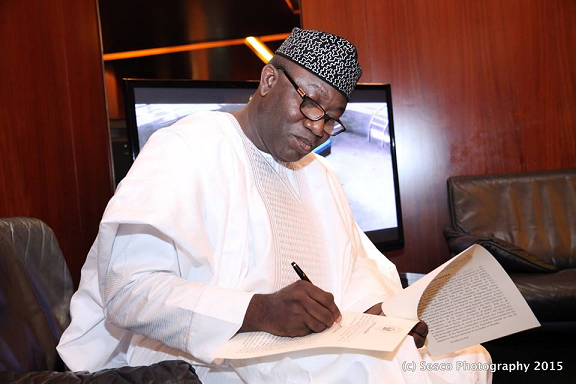 buhari ministers oath of allegiance