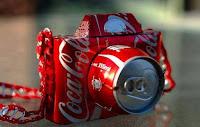 Manualidades con material reciclado - Cámara de fotos hecha con latas