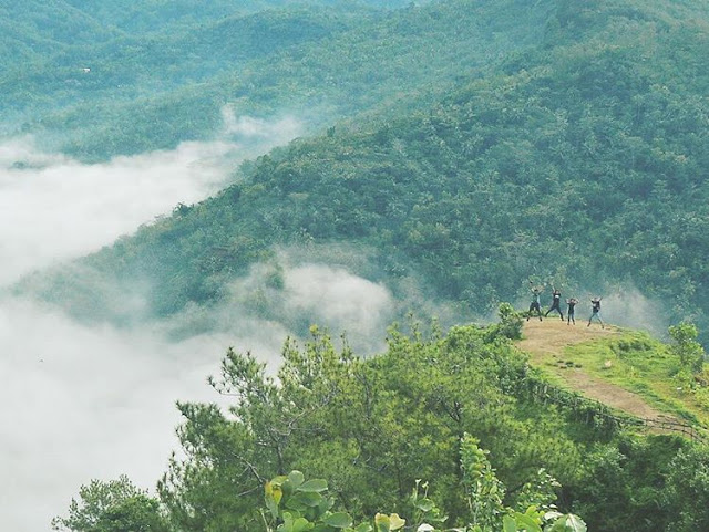 foto bukit langit kebumen