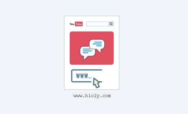 انشاء رابط مباشر لتعليق معين باليوتيوب للوصول السريع