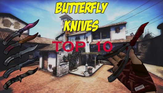 As 10 Butterfly Knife mais usadas no CS:GO