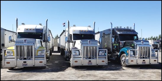 Pocock Trucking Kenworth W990s