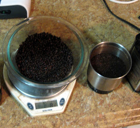 Appropriate since roasted barley was historically used to cut coffee.