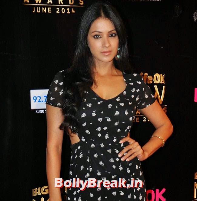 Barkha Bisht, Life OK Now Awards 2014 Red Carpet Pics