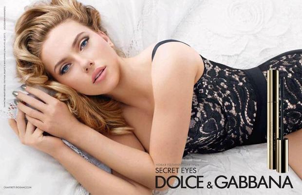 Scarlet Johansson é a estrela da Dolce & Gabanna