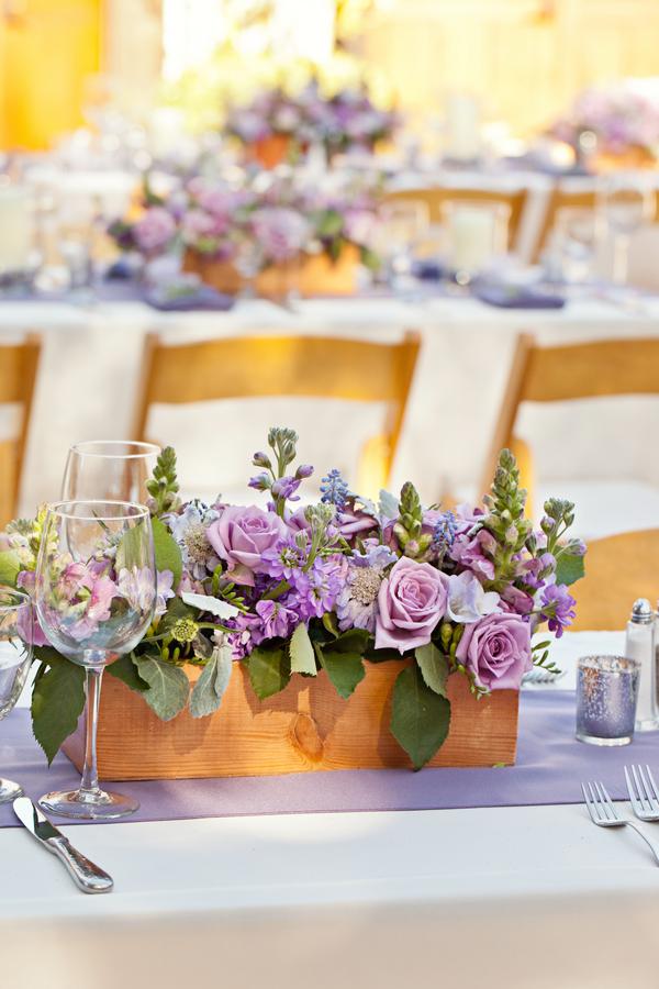 Bride+bridal+vineyard+winery+wine+purple+violet+Lavender+centerpieces+roses+dried+rustic+outdoor+spring+wedding+summer+wedding+fall+wedding+california+napa+valley+sonoma+white+floral+Mirelle+Carmichael+Photography+6 - Lavender Sprigs