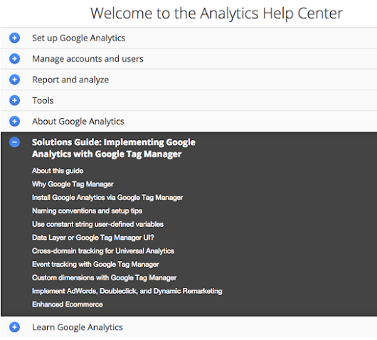 Solutions Guide for Implementing Google Analytics via Google Tag Manager - Analytics Blog