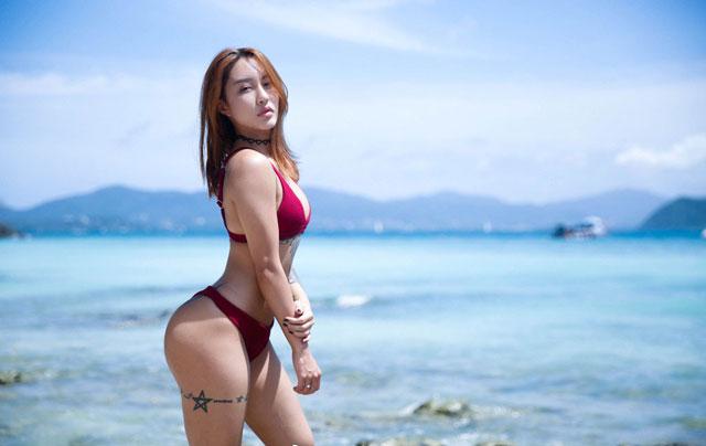 'Mê muội' trước vòng 3 của nữ HLV thể hình người Trung Quốc -3