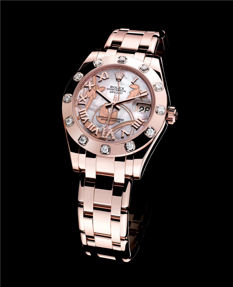 Rolex Datejust Oyster Perpetual Rose Gold