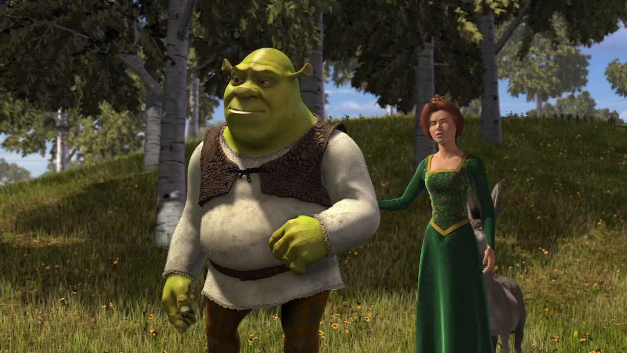 Shrek (2001) BRRip 720p Latino – Ingles captura 4