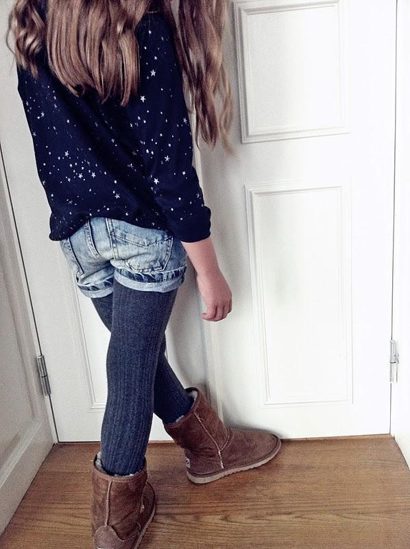 glittriga kläder