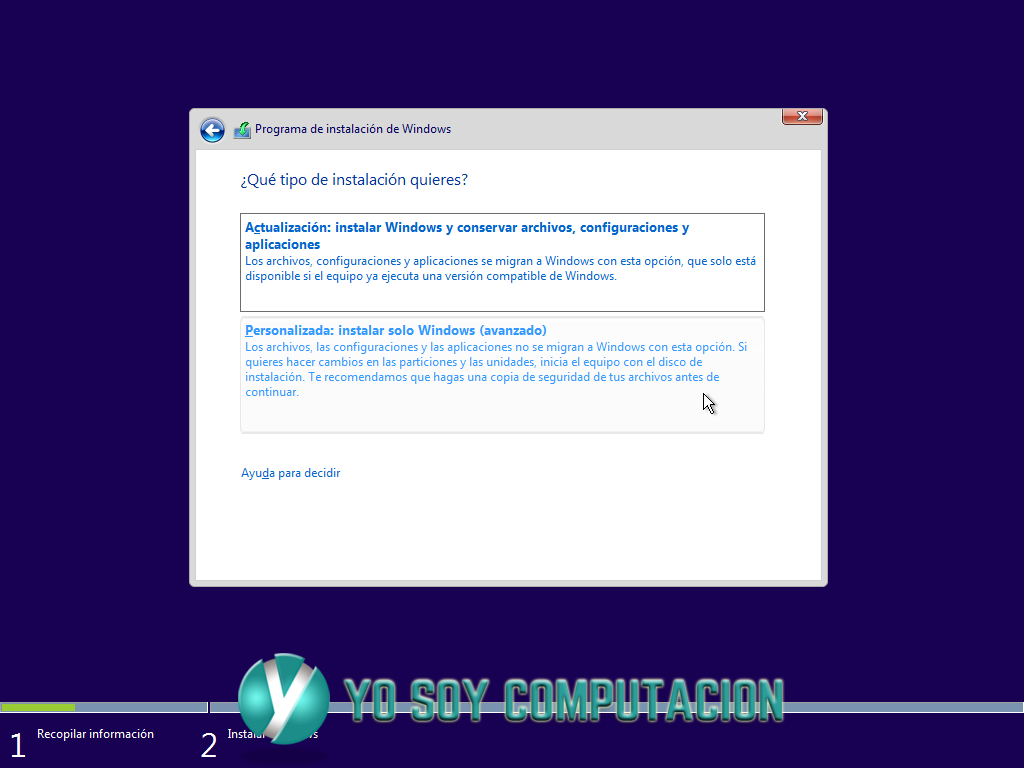 Tutorial completo instalación windows 10