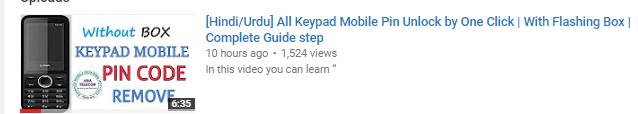 ALL MTK KEYPAD PASSWORD UNLOCK BY MTK FLASH TOOL WITH USB