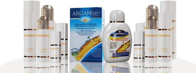 free arganrain shampoo