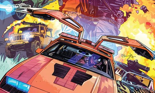 New Interview Reveals More Details About Upcoming M.A.S.K. Comic Series