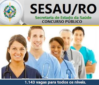 Apostila Secretaria de Saúde Rondônia - SESAU RO - Técnico em Enfermagem