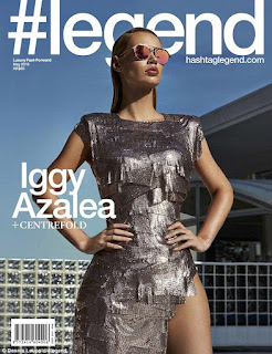 Rapper Iggy Azalea Is Hot As She Covers Front Page Of Legend Magazine