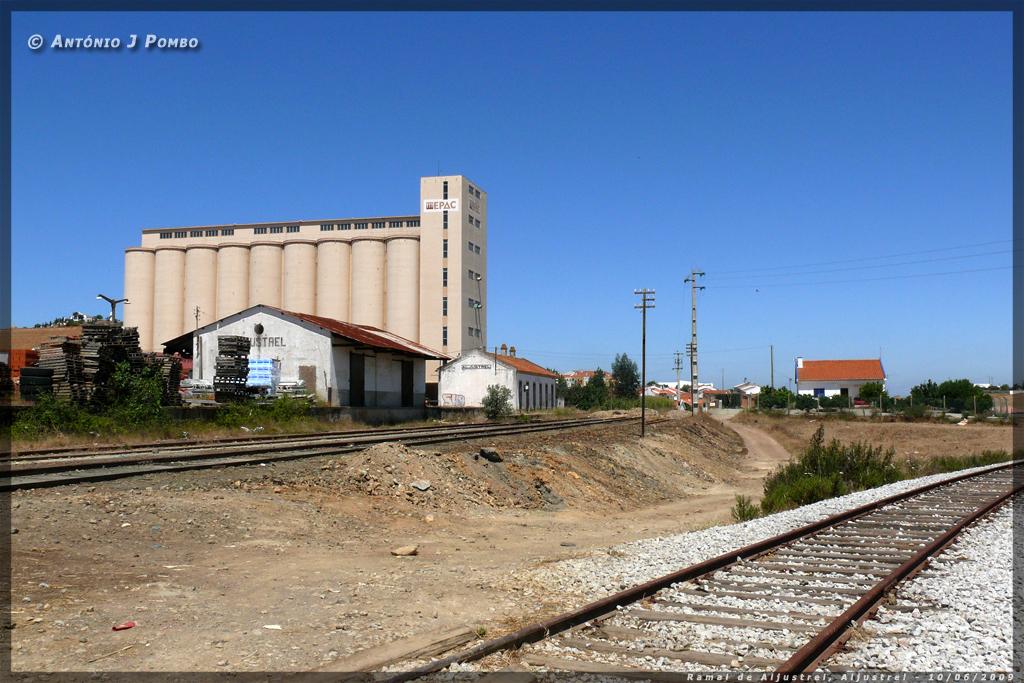 Aljustrel: Os Caminhos De Ferro: Ramal De Aljustrel