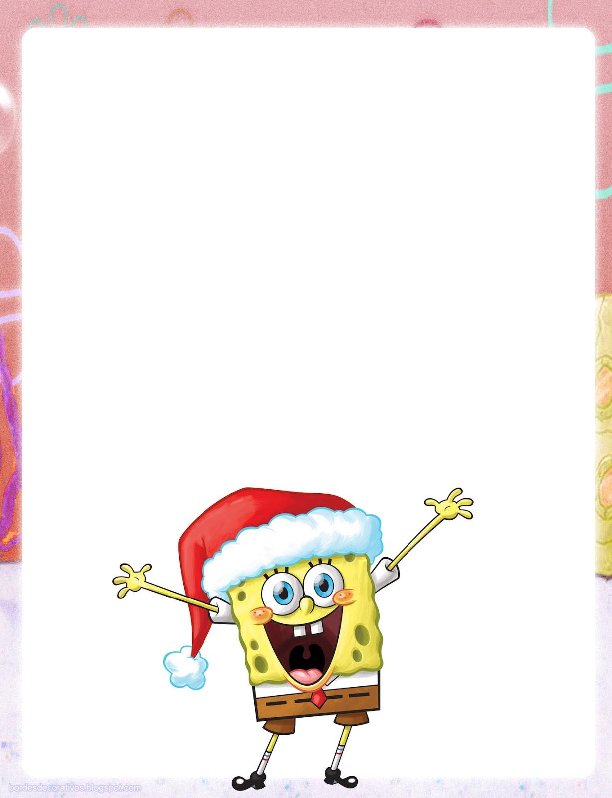 Bordes para hojas de navidad Imagenes para imprimirDibujos